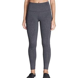 High waisted gray leggings Skechers hi rise tights